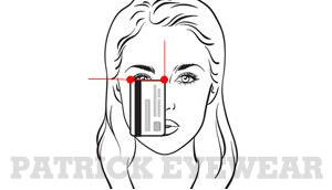 size kính rayban