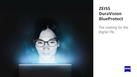 kính chống ánh sáng xanh Zeiss